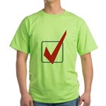 Check Mark Green T-Shirt