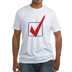 Check Mark Fitted T-Shirt