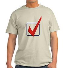 Check Mark Light T-Shirt