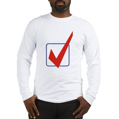Check Mark Long Sleeve T-Shirt