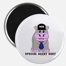 """Bert the Hippo 2.25"""" Magnet (10 pack)"""