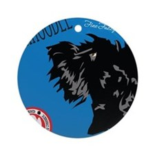Schnoodle Cafe Ornament (Round)