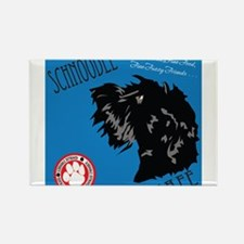 Schnoodle Cafe Rectangle Magnet