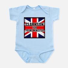 Clarkson for Prime Minister Infant Bodysuit