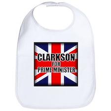 Clarkson for Prime Minister Bib
