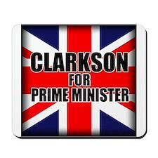 Clarkson for Prime Minister Mousepad
