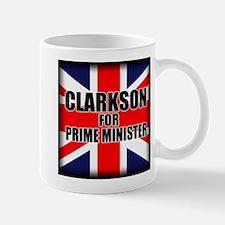 Clarkson for Prime Minister Mug