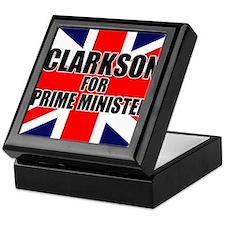 Clarkson for Prime Minister Keepsake Box