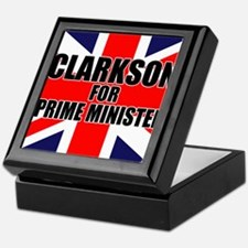 Clarkson for Prime Minister Keepsake Box