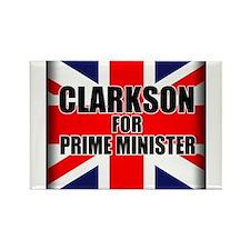 Clarkson for Prime Minister Rectangle Magnet