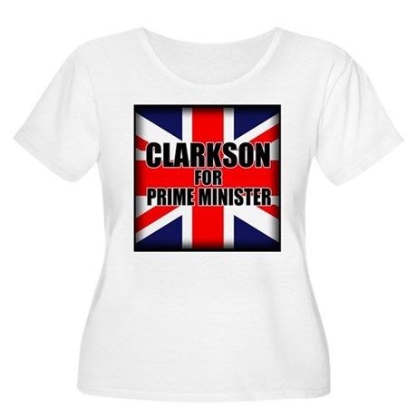 Clarkson for Prime Minister Women's Plus Size Scoo