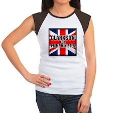 Clarkson for Prime Minister Women's Cap Sleeve T-S