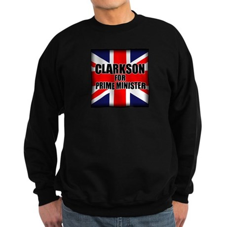 Clarkson for Prime Minister Sweatshirt (dark)