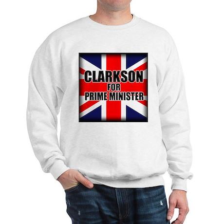 Clarkson for Prime Minister Sweatshirt