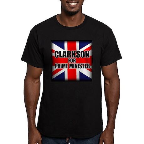 Clarkson for Prime Minister Men's Fitted T-Shirt (