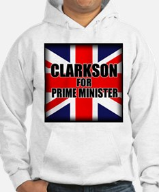 Clarkson for Prime Minister Hoodie
