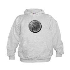 Atheist Silver Coin Hoodie