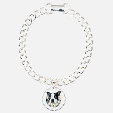 Terrier in daisies Bracelet