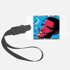 president.png Luggage Tag