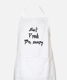 Eat, Drink, Be Scary BBQ Apron