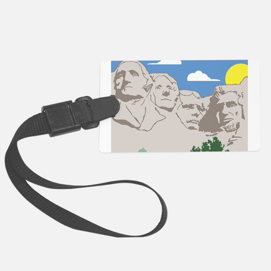 Mt Rushmore.jpg Luggage Tag