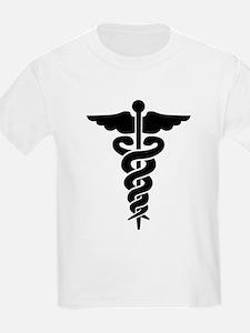 Caduceus Symbol Kids T-Shirt