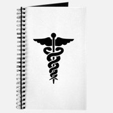 Caduceus Symbol Medical Journal