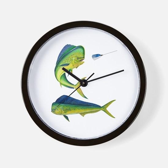 Mahi x 2 Wall Clock