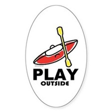 Play Outside Decal