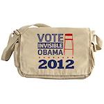 Invisible Obama Messenger Bag