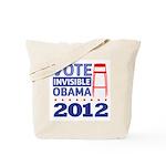 Invisible Obama Tote Bag