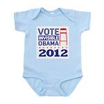 Invisible Obama Infant Bodysuit
