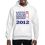 Invisible Obama Hooded Sweatshirt