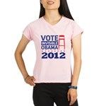 Invisible Obama Performance Dry T-Shirt