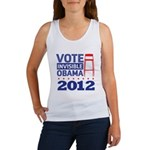 Invisible Obama Women's Tank Top