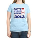 Invisible Obama Women's Light T-Shirt