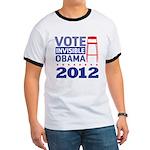 Invisible Obama Ringer T