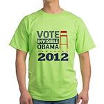 Invisible Obama Green T-Shirt