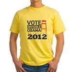 Invisible Obama Yellow T-Shirt