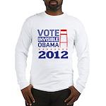 Invisible Obama Long Sleeve T-Shirt
