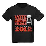 Invisible Obama Kids Dark T-Shirt