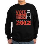 Invisible Obama Sweatshirt (dark)