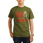 Invisible Obama Organic Men's T-Shirt (dark)
