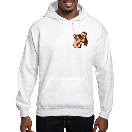 Orange Liath Hooded Sweatshirt