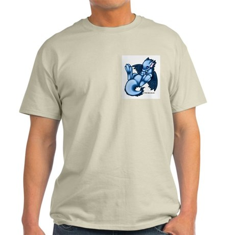 Blue Liath Ash Grey T-Shirt