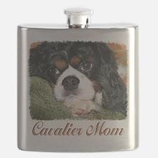 Cavalier Mom Flask