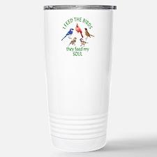 Bird Feeder Stainless Steel Travel Mug