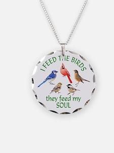 Bird Feeder Necklace