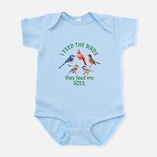 Bird Feeder Infant Bodysuit