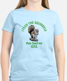 Squirrel Feeder T-Shirt